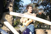 Jon Watts and his Xtracycle Radish