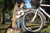 Jon Watts and his Xtracycle Radish 18