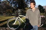 Jon Watts and his Xtracycle Radish 20