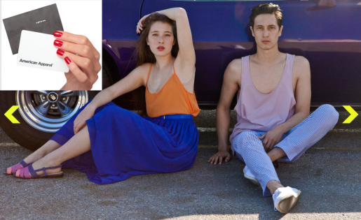 Grand Prize: $200 at American Apparel