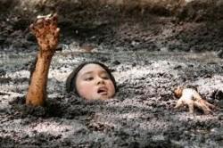 Stuck in Quicksand.