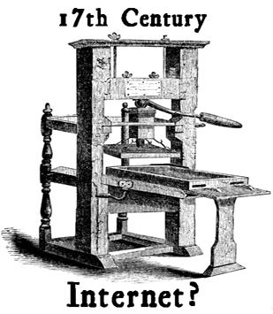 17th Century Printing Press